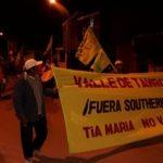 Tía María: Pobladores anuncian paro indefinido desde el 15 de julio