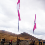 Comunidad campesina lleva tres días de huelga en el  corredor minero