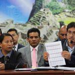 Enfrentados por poder: vicegobernadora Delia Condo y gobernador Jean Paul Benavente