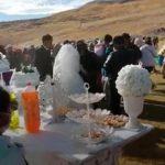 Realizan boda evangélica sin respetar distanciamiento social en Chicmo